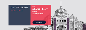 "Join us for the 2021 ANZCA Annual Scientific Meeting (ASM) in Melbourne to see how we -and our specialty - are advancing in ""leaps and bounds""."